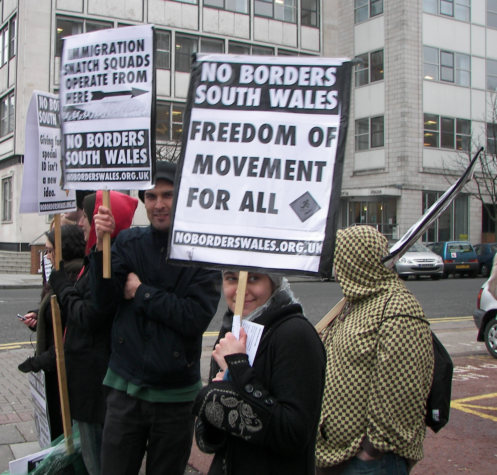 The First Picket Of 2009